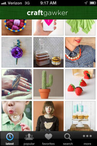 crafts, design inspiration, app, iphone