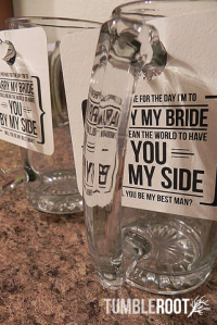 will you be my groomsman, best man, groomsmen gift, beer stein