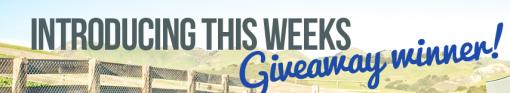 giveaway winner image