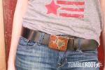 Texas Belt Buckle ~ Sqaure