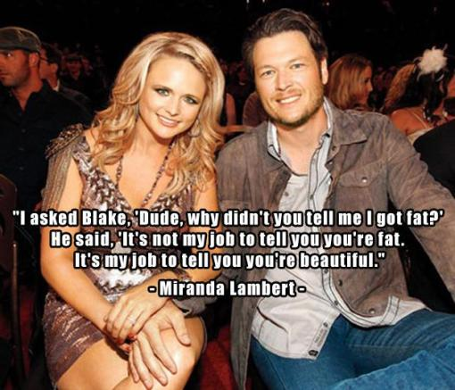1-Miranda-Lambert-and-Blake-Shelton-funny-quotes1