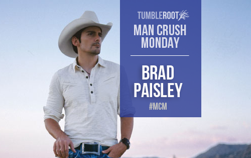 brad paisley is our country music man crush monday