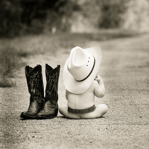 baby cowboy